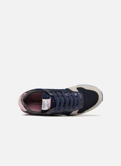 Baskets Pepe jeans GABLE TINO Bleu vue gauche