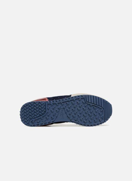 Baskets Pepe jeans GABLE TINO Bleu vue haut