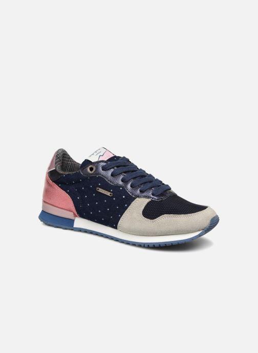 Baskets Pepe jeans GABLE TINO Bleu vue détail/paire