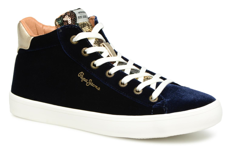 Pepe jeans STARK SEQUINS (Bleu) - Baskets en Más cómodo Nouvelles chaussures pour hommes et femmes, remise limitée dans le temps
