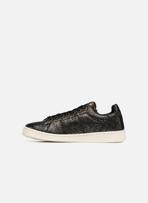 Sneakers Pepe jeans BROMPTON COCK Zwart voorkant