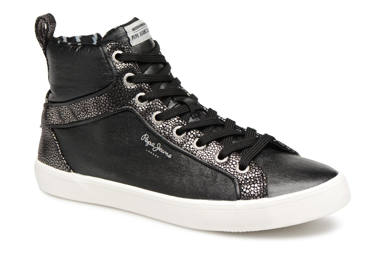Baskets Pepe jeans STARK MOON Noir vue détail/paire