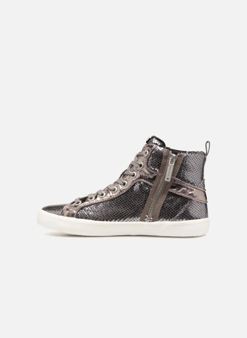 Sneakers Pepe jeans STARK LUXOR Argento immagine frontale