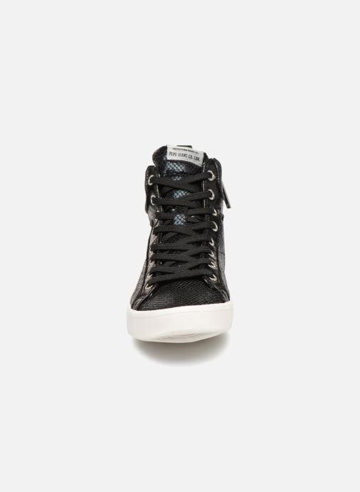Baskets Pepe jeans STARK LUXOR Noir vue portées chaussures