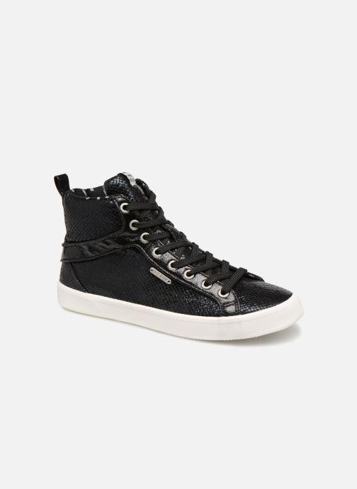 Baskets Pepe jeans STARK LUXOR Noir vue détail/paire