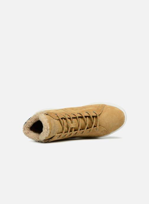 Baskets Pepe jeans BRIXTON GOOSE Beige vue gauche