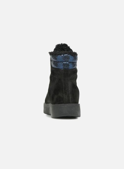 Baskets Pepe jeans BRIXTON GOOSE Noir vue droite