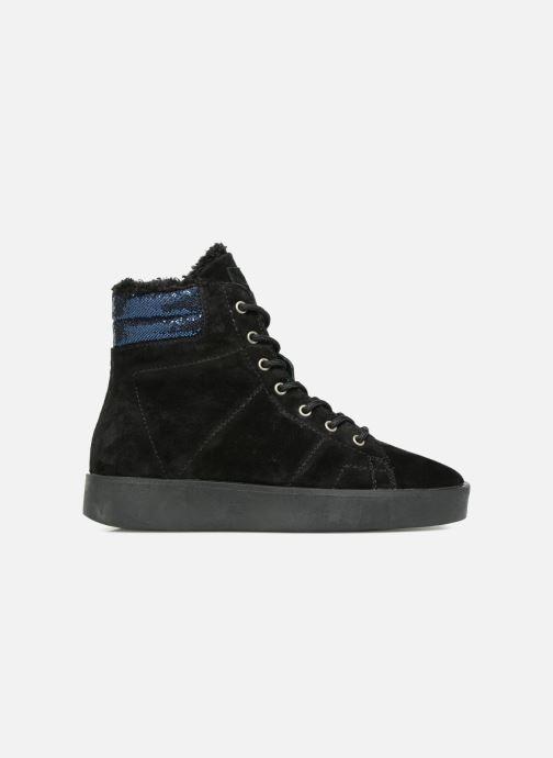 Baskets Pepe jeans BRIXTON GOOSE Noir vue derrière