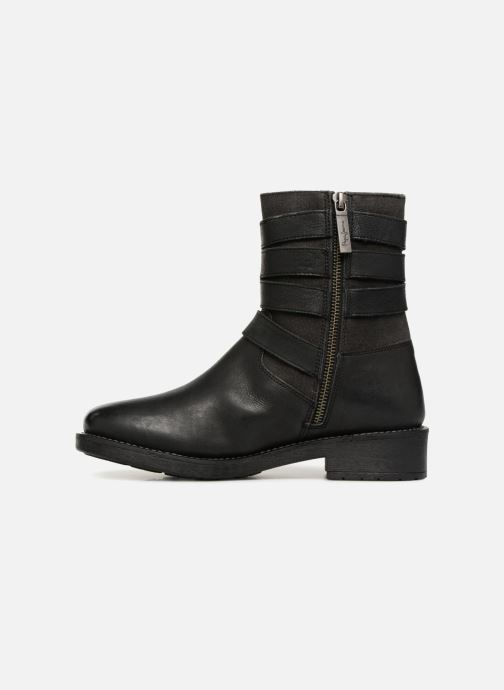 Ankle boots Pepe jeans MADDOX STRAPS Black front view