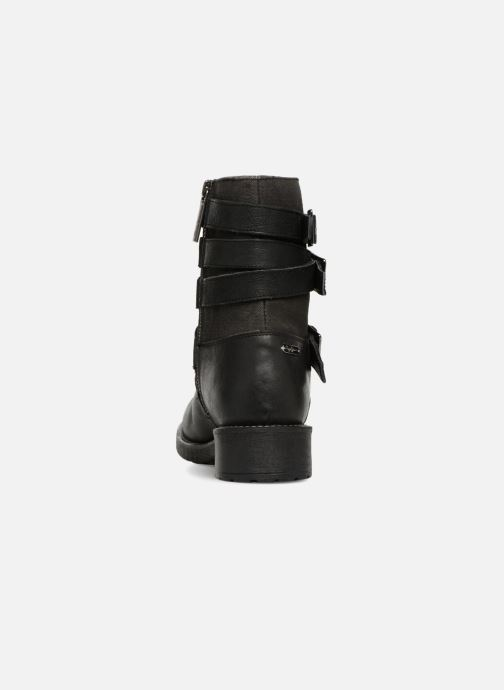 Ankle boots Pepe jeans MADDOX STRAPS Black view from the right