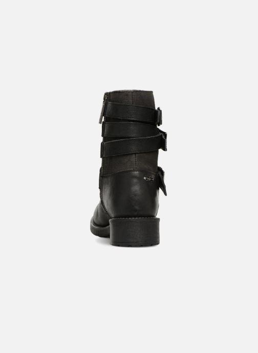 Bottines et boots Pepe jeans MADDOX STRAPS Noir vue droite