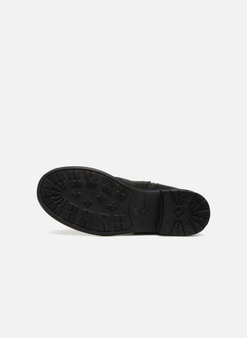 Bottines et boots Pepe jeans MADDOX STRAPS Noir vue haut