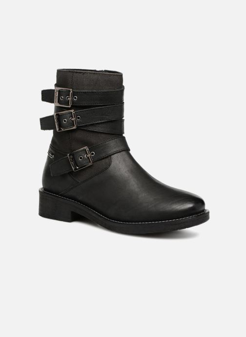 Ankle boots Pepe jeans MADDOX STRAPS Black detailed view/ Pair view