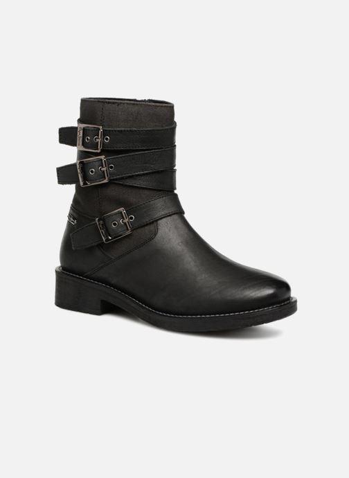 Bottines et boots Pepe jeans MADDOX STRAPS Noir vue détail/paire