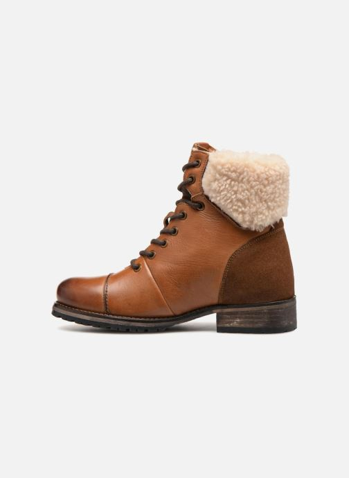 Bottines et boots Pepe jeans MELTING WARM Marron vue face