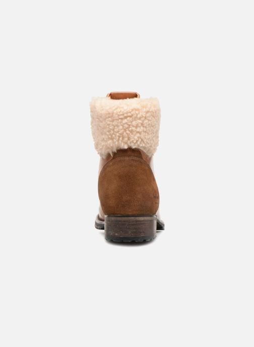 Bottines et boots Pepe jeans MELTING WARM Marron vue droite