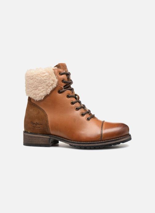 Bottines et boots Pepe jeans MELTING WARM Marron vue derrière