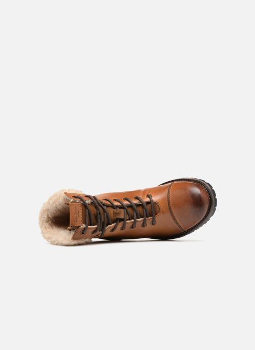 Bottines et boots Pepe jeans MELTING WARM Marron vue gauche