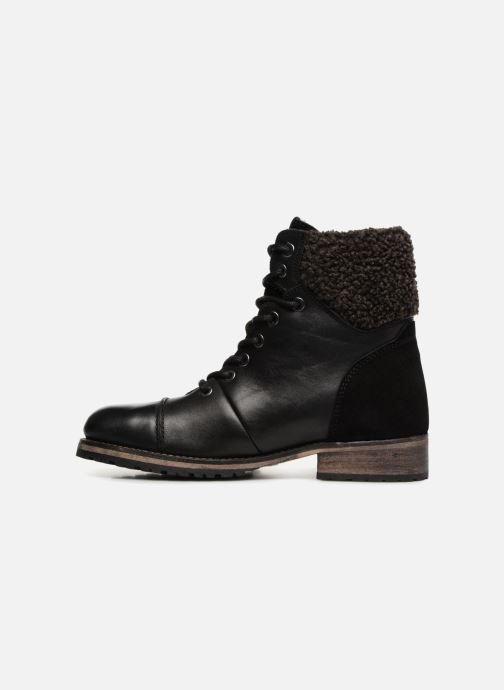Bottines et boots Pepe jeans MELTING WARM Noir vue face