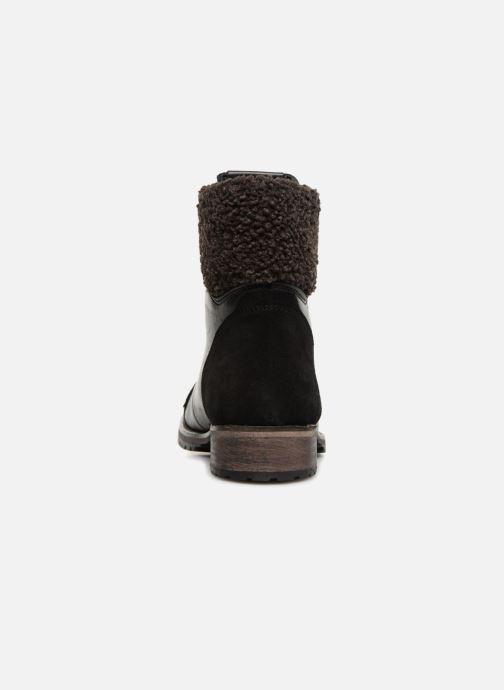 Bottines et boots Pepe jeans MELTING WARM Noir vue droite
