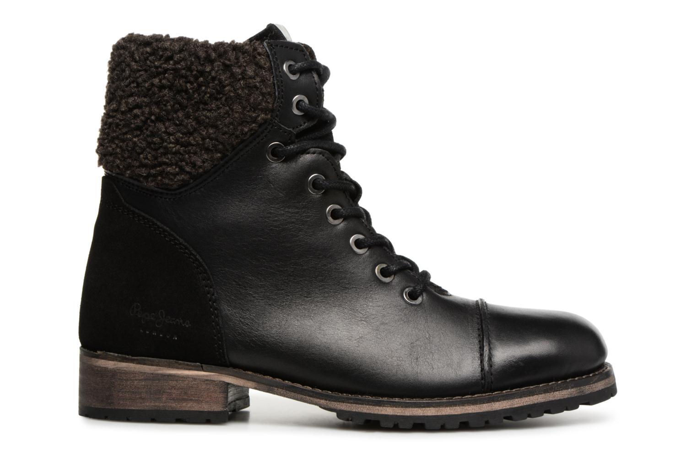 Bottines et boots Pepe jeans MELTING WARM Noir vue derrière