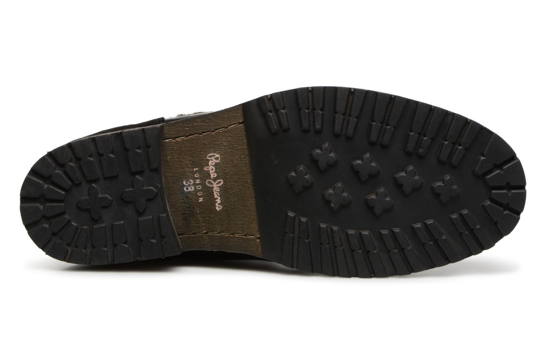 Bottines et boots Pepe jeans MELTING WARM Noir vue haut