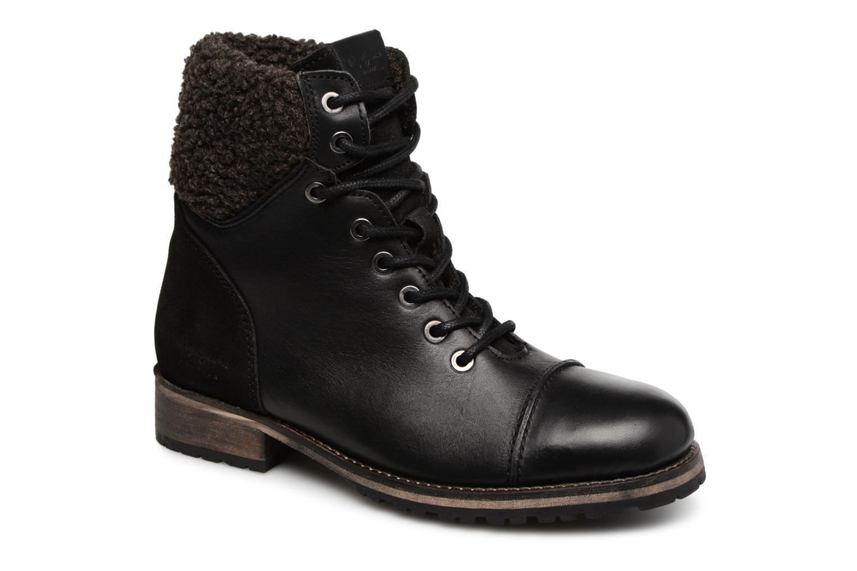 Bottines et boots Pepe jeans MELTING WARM Noir vue détail/paire
