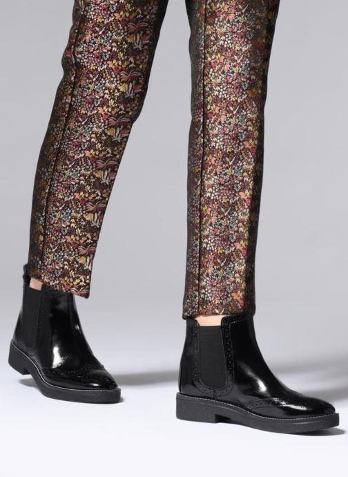 Bottines et boots Pepe jeans SAVILE GLASS Noir vue bas / vue portée sac