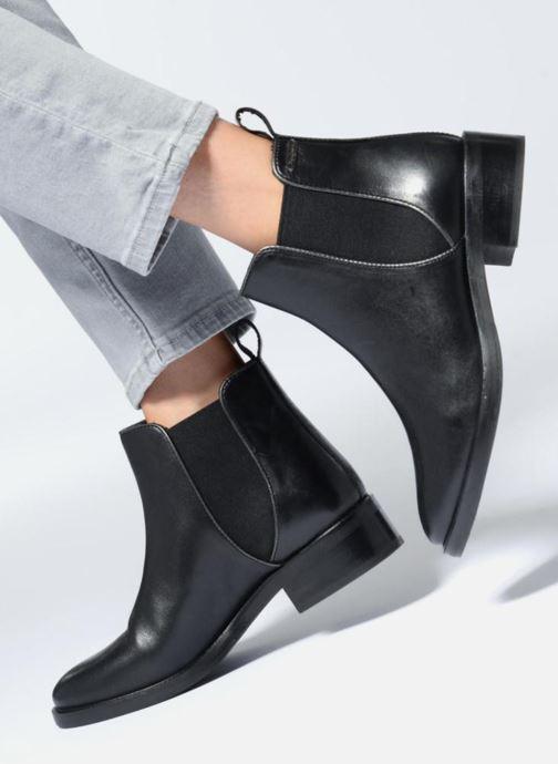 Bottines et boots Pepe jeans DEVON BASIC Noir vue bas / vue portée sac
