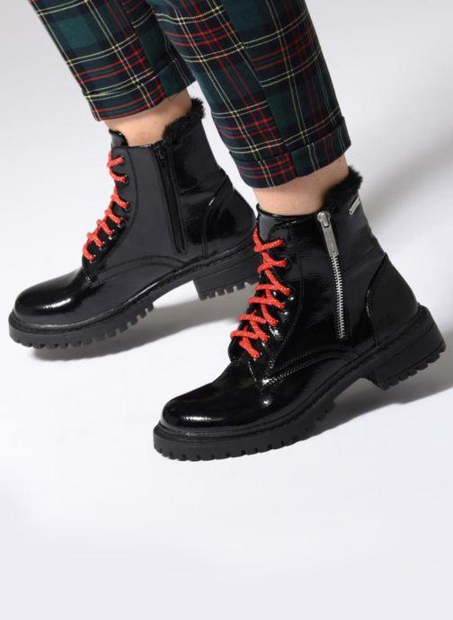 Bottines et boots Pepe jeans COLLIE SURI Noir vue bas / vue portée sac