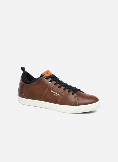 Baskets Pepe jeans MARTON BASIC Marron vue détail/paire