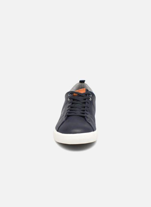 Sneakers Pepe jeans MARTON BASIC Azzurro modello indossato