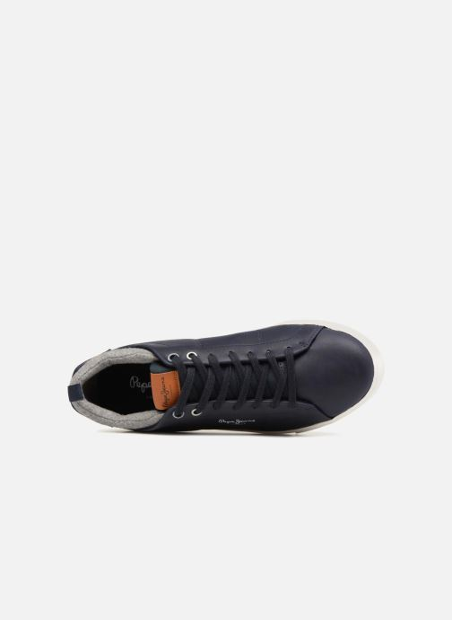 Baskets Pepe jeans MARTON BASIC Bleu vue gauche