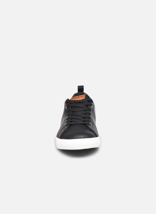 Baskets Pepe jeans MARTON BASIC Noir vue portées chaussures