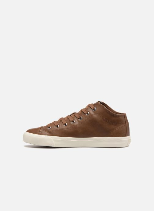 Baskets Pepe jeans INDUSTRY PRO-BASIC Marron vue face