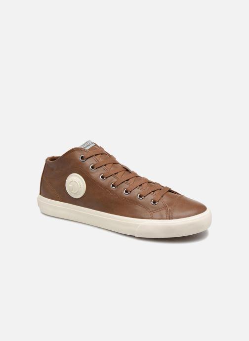 Baskets Pepe jeans INDUSTRY PRO-BASIC Marron vue détail/paire