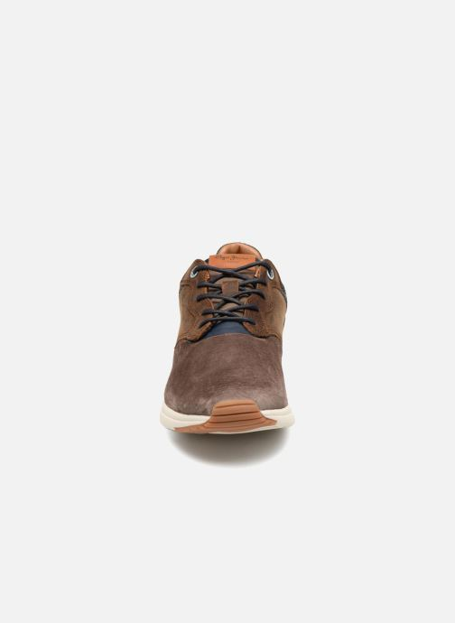 Sneaker Pepe jeans JAYKER COMB braun schuhe getragen