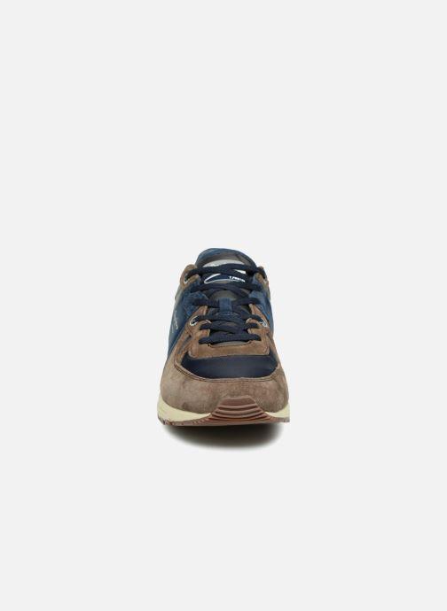 Baskets Pepe jeans TINKER PRO-CAMP Marron vue portées chaussures