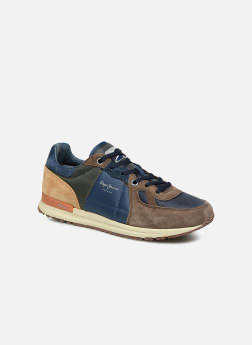 Baskets Pepe jeans TINKER PRO-CAMP Marron vue détail/paire