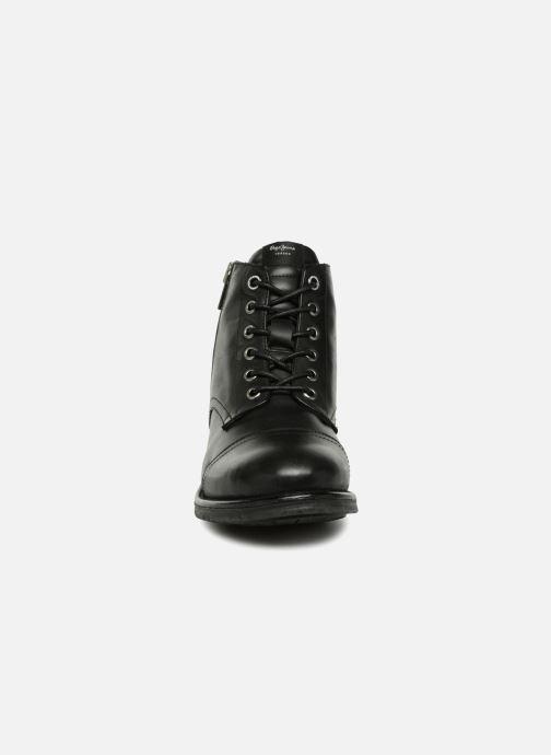 Stiefeletten & Boots Pepe jeans TOM-CUT MED BOOT schwarz schuhe getragen