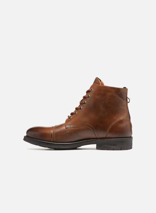 Stiefeletten & Boots Pepe jeans TOM-CUT MED BOOT braun ansicht von vorne