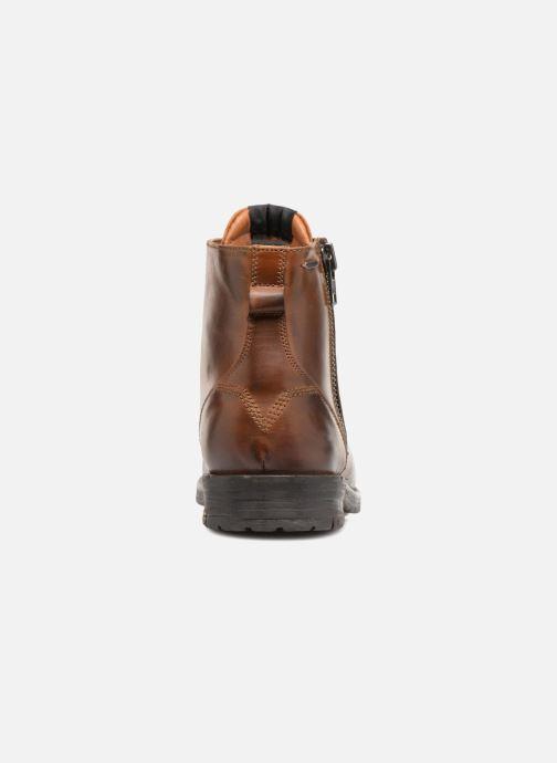 Stiefeletten & Boots Pepe jeans TOM-CUT MED BOOT braun ansicht von rechts