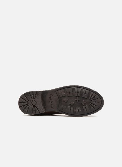 Stiefeletten & Boots Pepe jeans TOM-CUT MED BOOT braun ansicht von oben