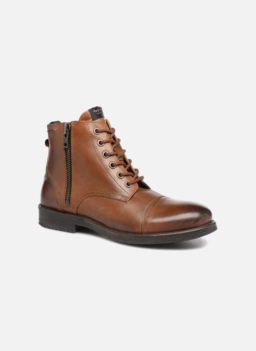 Bottines et boots Pepe jeans TOM-CUT MED BOOT Marron vue détail/paire