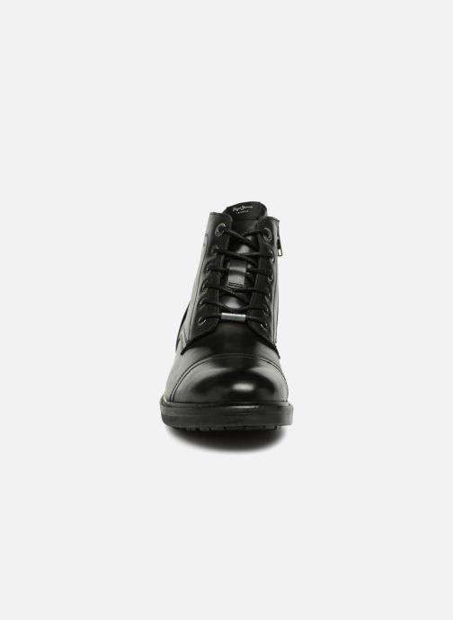 Stiefeletten & Boots Pepe jeans HUBERT BOOT braun schuhe getragen