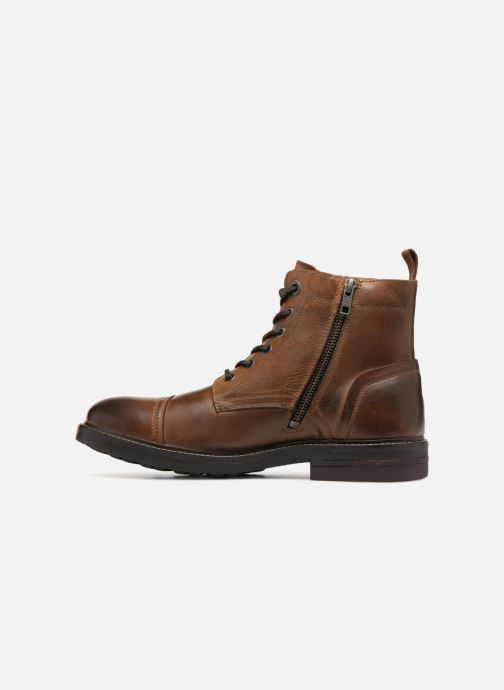 Ankle boots Pepe jeans HUBERT BOOT Brown front view