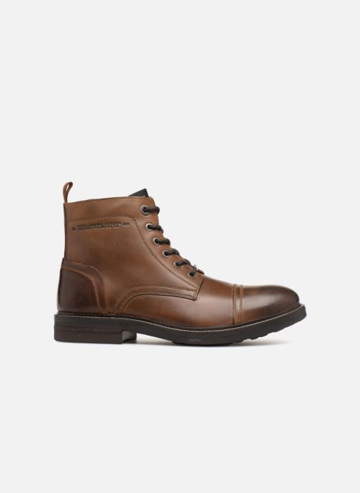 Ankle boots Pepe jeans HUBERT BOOT Brown back view