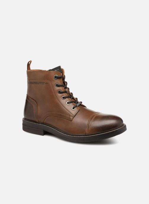 Ankle boots Pepe jeans HUBERT BOOT Brown detailed view/ Pair view