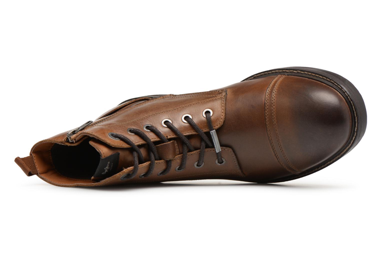 Bottines et boots Pepe jeans HUBERT BOOT Marron vue gauche