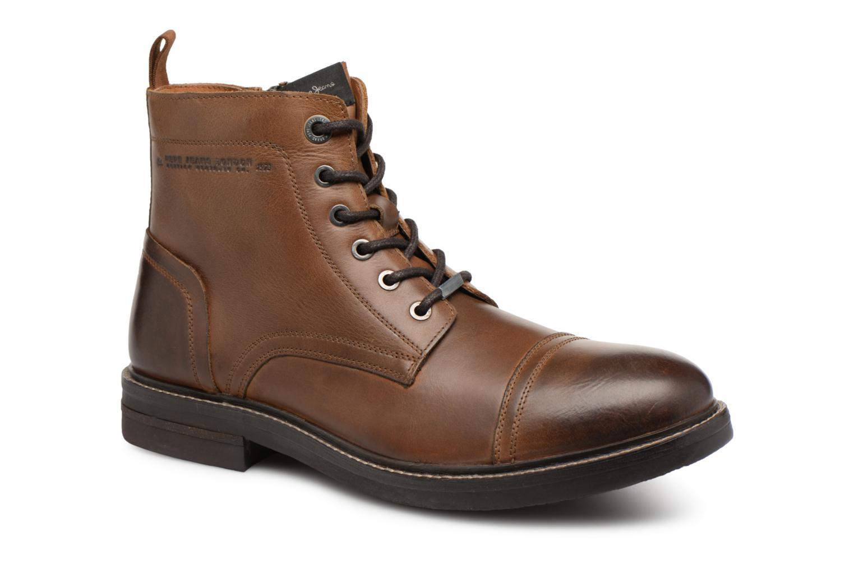 Bottines et boots Pepe jeans HUBERT BOOT Marron vue détail/paire